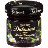 (Price/case)Dickinson 5150003892 Dickinson 1 Ounce Seedless Blackberry Preserves Glass