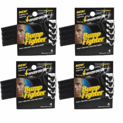 Bump Fighter Mens Disposable Razors - 4 ct. (Pack of 4 ) + Yes to Coconuts Moisturizing Single Use Mask