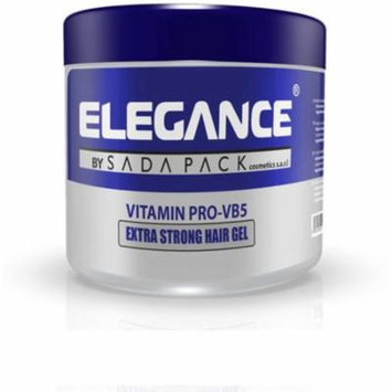 2 Pack - Elegance Gel Vitamin Pro Extra Strong Hold 17.6 oz