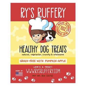 Rys Ruffery Ry's Ruffery Pumpkin Apple Healthy Dog Treats 8 oz Bags