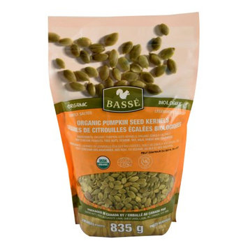 Basse Nuts Basse Organic Pumpkin Seeds Kernels Nutritious, Salted, Wholesome, Superfood Snack