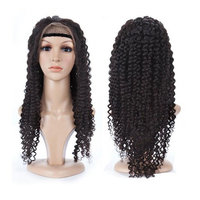 H&N Hair Full Lace Human Hair Wigs Loose Curly 130% Density Brazilian Virgin Human Hair Wigs With Baby Hair For Black Women Natural Color 16 inch
