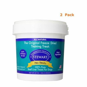 Stewart Pro-Treat Freeze Dried treats for dogs, Pack Of 2