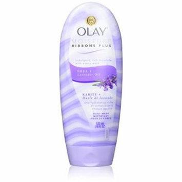 OLAY Moisture Ribbons Plus, Shea Plus Lavender Oil 18 oz (Pack of 16)