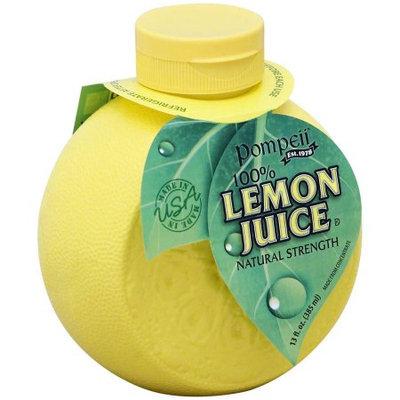 Pompeii 100% Lemon Juice, 13 oz, (Pack of 12)