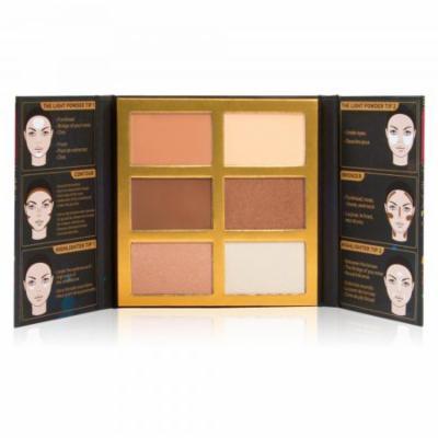 Symphony Face Obsession Highlight, Contour&Bronzer Palette SFO102