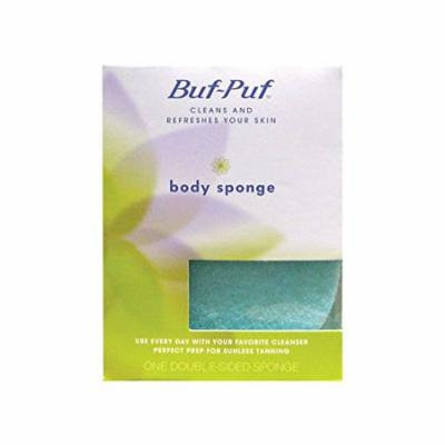 3 Pack Buf-Puf Double-Sided Body Sponge 1 count each