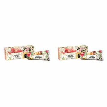 Michel Design Works Pink Peppercorn & Green Floral Scented Natural Hand Cream with Shea Butter Set of 2 - Morning Blossoms