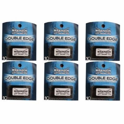Wilkinson Sword Double Edge Razor Blades, 10 ct. (Pack of 6) + Yes to Coconuts Moisturizing Single Use Mask