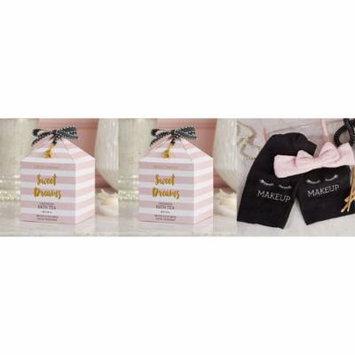 Two's Company Makeup Removal Kit and Lavender Tea Bath Salts Set