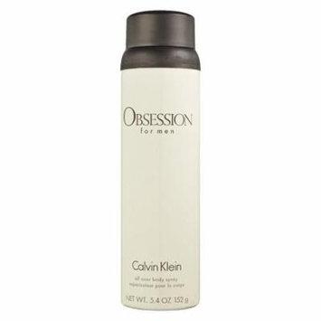 Obsession Body Spray deodorant for men 5.4 oz