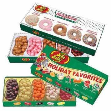(Set) Jelly Belly Holiday Favorites - Krispy Kreme Doughnut Gourmet Flavors