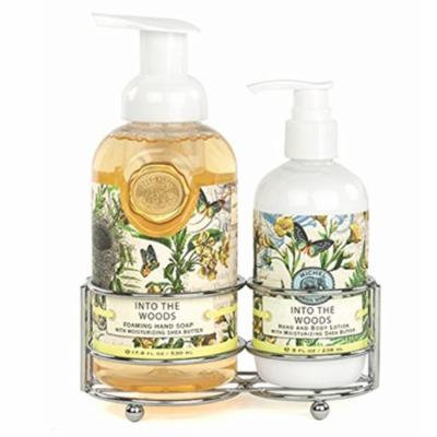 Michel Design Works Hand Soap & Lotion Gift Set Into The Woods Unisex 17.8 Oz Hand Soap/ 8 Oz Lotion