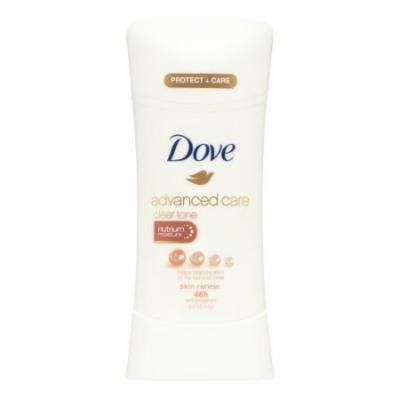Dove Advanced Care Antiperspirant ClearTone Skin Renew 2.6 oz (Pack of 10)