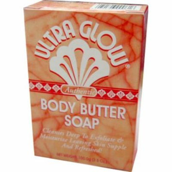 Ultra Glow Soap - Body Butter 3.5 oz. (Pack of 2)