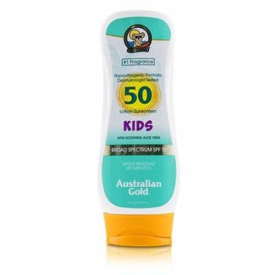 Australian Gold Lotion Sunscreen Broad Spectrum SPF 50 with Soothing Aloe Vera - For Kids 237ml/8oz Skincare