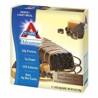 Atkins Advantage Snack Bars Dark Chocolate Decadence1.6 oz. x 5 pack(pack of 12)