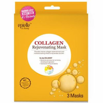 epielle Premium Collagen Rejuvenating Mask, 3ct (2 pack)