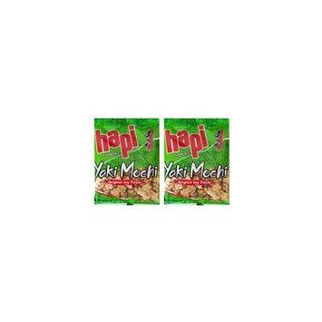 Japanese Hapi Traditional Rice Cracker Mix 2 Pack (Yaki Mochi 3oz)