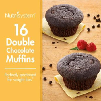Nutrisystem Double Chocolate Muffin , 2 Oz, 16 Count