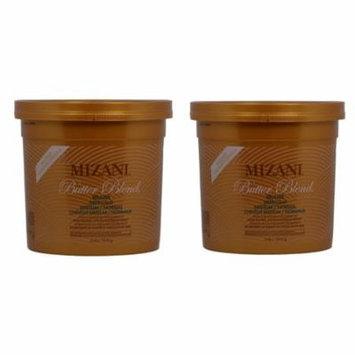 Mizani Butter Blend Relaxer Medium/Normal 4lbs (Pack of 2)