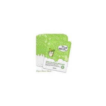 10 Pack Esfolio Pure Skin Green Tea Essence Korean Face Mask Sheet Healing Calming Soothing w/ Natural Ingredients