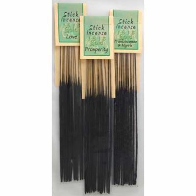 Amber 1618 gold Incense Sticks (13 pack)