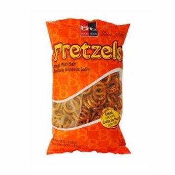 Beigel Beigel Salted Pretzel Rings Pack of 3 9 oz bags Amazing Buy!!!
