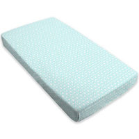 kushies® Cotton Flannel Fitted Crib Sheet