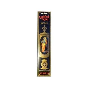 Amber, Spiritual Sky Incense, 20 Stick Packet