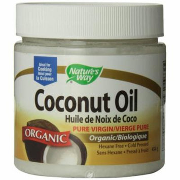 Nature's Way, Coconut Oil-Extra Virgin Organic 16 fl oz, Pack of 2