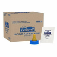 Enfamil Standard-Flow Soft Nipple (Pack of 12)