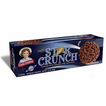 Little Debbie Star Crunch Cookies (12 count) 13 oz Box - Pack of 8