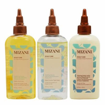 Mizani Scalp Care Set (Soothing Serum+ Cooling Serum+ Calming Lotion 4oz)
