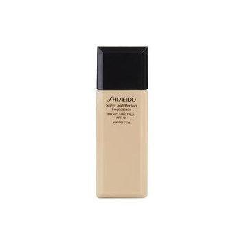 SHISEIDO by Shiseido - Sheer & Perfect Foundation SPF 18 - # D30 Very Rich Brown --30ml/1oz - WOMEN