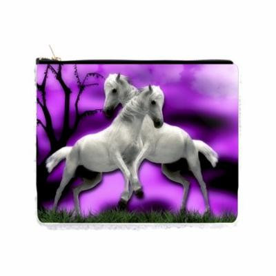 White Horses Against the Purple Sky - Double Sided 6.5
