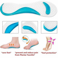Girl12Queen Non-Slip Sandals High Heel Arch Cushion Support Silicone Gel Pads Shoes