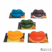 Monster Wax Lips(pack of 4)