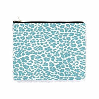 Blue Leopard Print - Double Sided 6.5