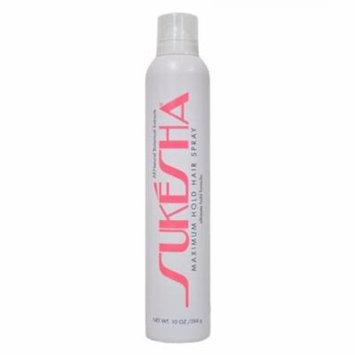 Sukesha Maximum Hold Hair Spray 10 oz.