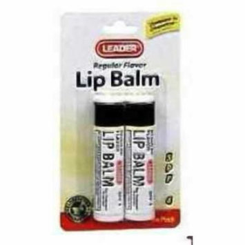 Leader Lip Balm, SPF4, Original, 2ct 096295122268A090