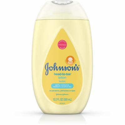 2 Pack - Johnson's Head-to-Toe Moisturizing Baby Body Lotion, Hypoallergenic and Paraben Free