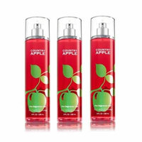 Bath & Body Works Country Apple Fine Fragrance Mist - Pack of 3