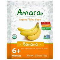 AMARA Stage 1 Organic Baby Food, Banana