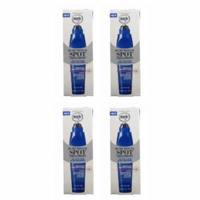 Magic Shave Bump Rescue Spot Treatment, 0.33 oz (Pack of 4) + Yes to Tomatoes Moisturizing Single Use Mask