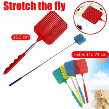Outtop Plastic Telescopic Extendable Fly Swatter Prevent Pest Mosquito Tool