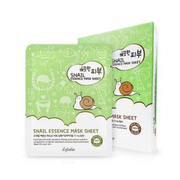 Esfolio Pure Skin Snail Essence Sheet Mask Set (10-Pack)