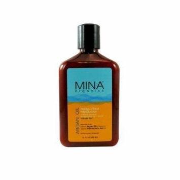 Mina Organics Argan Oil Face & Body Moisturizer 12oz