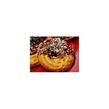 Framed Art For Your Wall Pastries Chocolate Cookies Coconut Coffee Cakes 10x13 Frame