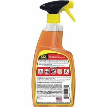 Goo Gone Pro-Power Adhesive Remover, Citrus Scent, 4 Spray Bottles (WMN2180A)